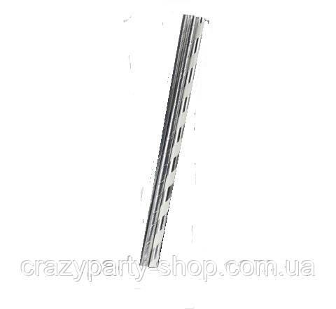 Трубочки для напитков картонные  серебро 2 шт