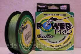 Шнур ( нитка плетёнка) рыболовный Power Pro 100 метров 0.10-0.50