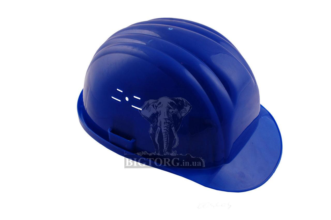 Каска строительная Vita синяя