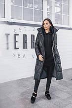 Женская куртка, плащёвка + синтепон 200, р-р 42-44; 44-46 (чёрный)
