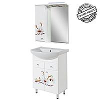 """Комплект мебели для ванной комнаты """"ФЛОРА"""" 60 см."""