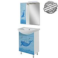 """Комплект мебели для ванной комнаты """"ДЕЛЬФИН"""" 60 см."""