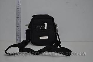 Сумка мужская через плечо размеры 13/15/4 см LEADHAKE 0716