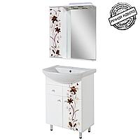 """Комплект мебели для ванной комнаты """"Даниэла"""" 60 см."""