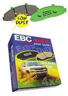 Тормозные колодки ЕВС brakes 6000 Series
