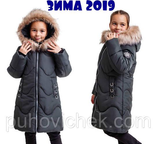 Детское зимнее пальто для девочек очень теплое
