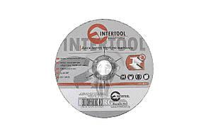 Круг зачистной по металлу Intertool - 150 х 6 х 22,2 мм, изогнутый