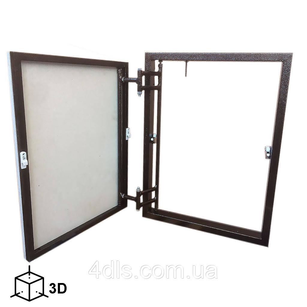 Люк под плитку (300х600) Стандарт-3D