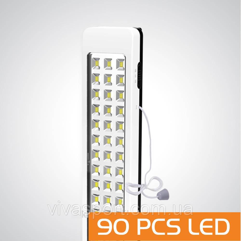 Аккумуляторная светодиодная лампа-фонарь Kamisafe KM-7623C  (КамиСейф КМ 7623 С)