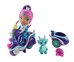 Шиммер и Шайн Fisher-Price Кукла Зета на скутере Shimmer & Shine, Zeta