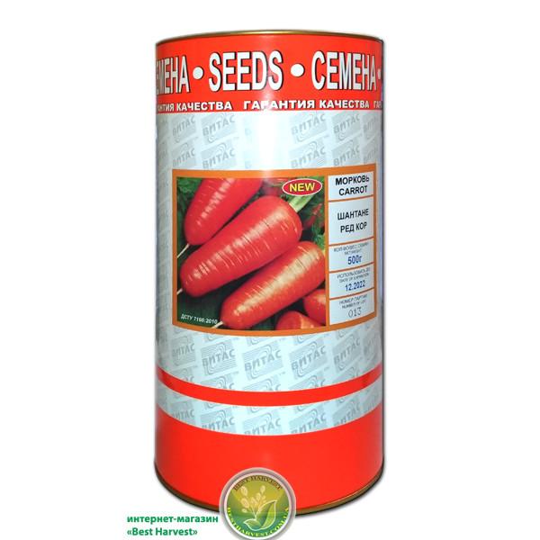 Семена моркови «Шантане Ред Кор» 500 г, инкрустированные (Vitas)