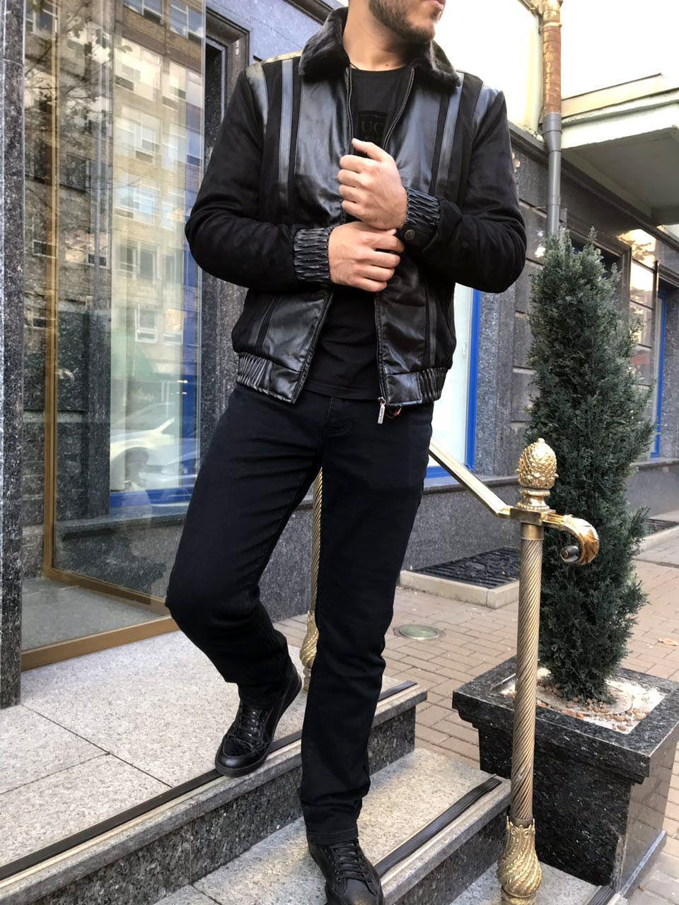 Мужская куртка осень-зима STEFANO RICCI с,м,л,хл Качество на высшем уровне, тинсулейт, до -10. Мех отстежной