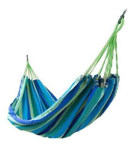 Гамак мексиканський синій двомісний 160x195 см