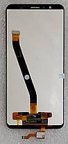 Модуль (сенсор + дисплей) для Huawei Honor 7X(BND-L21) чорний, фото 2