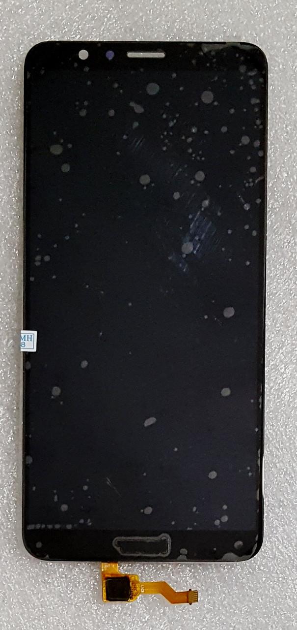 Модуль (сенсор + дисплей) для Huawei Honor 7X(BND-L21) чорний