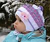 Детская шапка Беретик двойной Малышка(9-18мес)