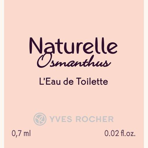 Туалетная Вода «Натюрэль Османтус», 0,7 мл