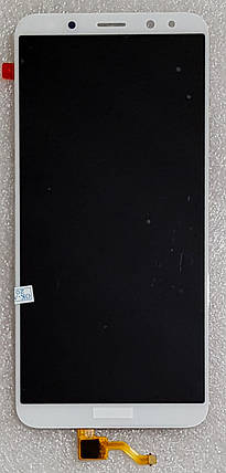 Модуль (сенсор + дисплей LCD) для Huawei MATE10 Lite (RNE-L01/RNE-L21) білий, фото 2