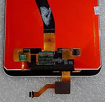 Модуль (сенсор + дисплей LCD) для Huawei MATE10 Lite (RNE-L01/RNE-L21) білий, фото 3