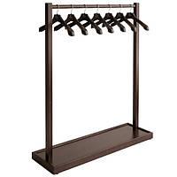 Напольная деревянная стойка для одежды «Элит-1»