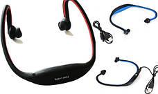 Sport MP3 плеер для спорта и прогулок + наушники + FM + Зарядное