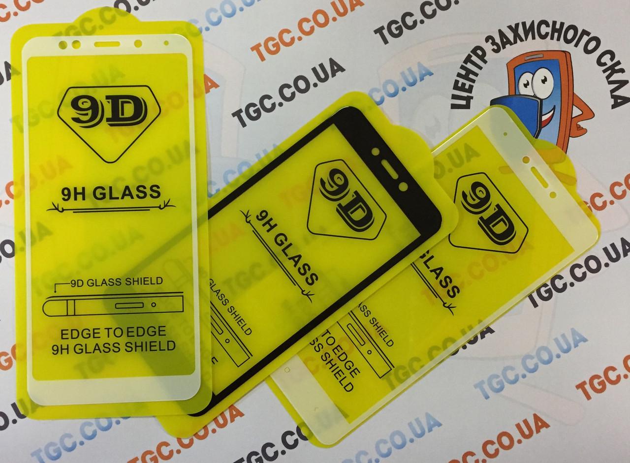 Защитное стекло 9D для XIAOMI REDMI NOTE 6 - белый