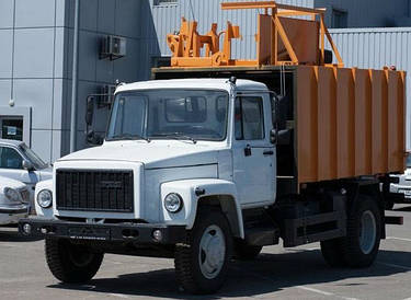 Мусоровоз с боковой загрузкой на шасси ГАЗ-3309
