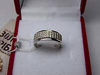 Женское золотое кольцо с белого золота Размер 16