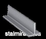 Тавр алюминиевый, основание 40, высота 40, толщина стенки 3, марка алюминия АД31, Д16Т, АМг3, 1915, фото 2