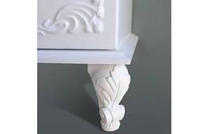Комплект мебели Ольвия (Атолл) Барселона белое дерево 75 lucido, фото 3