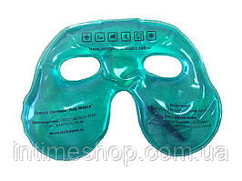 Солевая грелка маска для лица Лор Макси (многоразовая), цвет - зеленый, с доставкой по Укарине