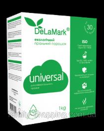 Стиральный порошок DeLaMark Universal Экологичный, 1кг
