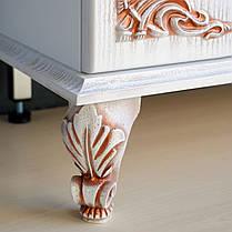 Комплект мебели Ольвия (Атолл) Барселона белое дерево 95 rame, фото 2