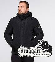 Куртка на меху со съемным воротником Braggart Dress Code - 19121Q черная, фото 1