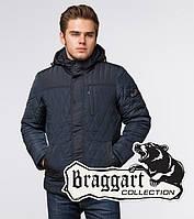 Куртка на меху зимняя мужская Braggart Dress Code - 30538 светло-синяя