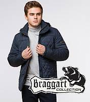 Куртка на меху зимняя мужская Braggart Dress Code - 24534N светло-синяя