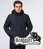 Куртка на меху зимняя мужская Braggart Dress Code - 24534A синяя