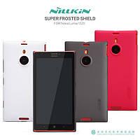 Чехол для Nokia Lumia 1520 - Nillkin Super Frosted Shield (пленка в комплекте)