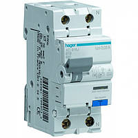 Дифференциальный автоматический выключатель двухполюсный 6kА 30mA