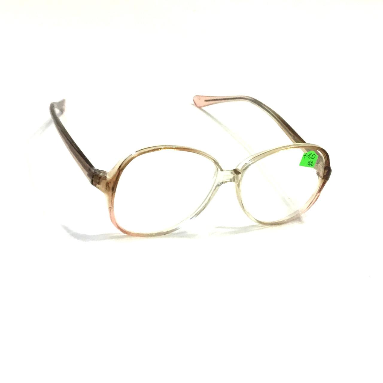 Женские очки со стеклом