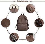 Коричневий рюкзак міський BUG ME1718CF, фото 4