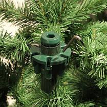 Ель 1,85 м. Hallarin зеленая с инеем, фото 3
