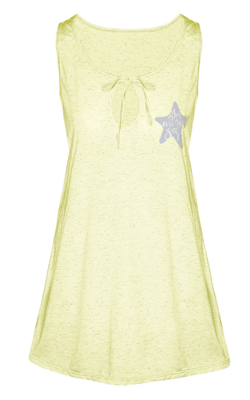 Ночная рубашка Меланж (желтый) 52-54