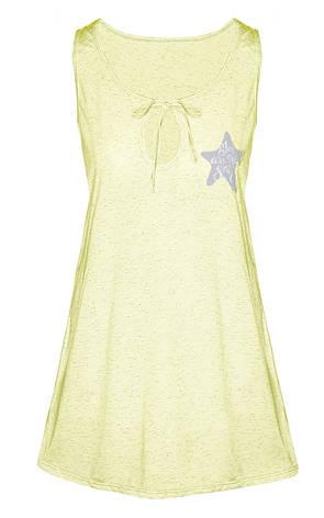 Ночная рубашка Меланж (желтый) 52-56, фото 2