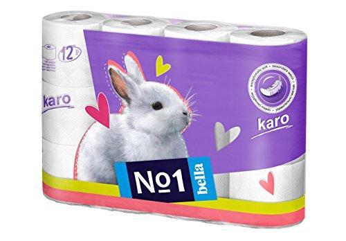 Туалетний папір Bella Karo 12шт упаковка