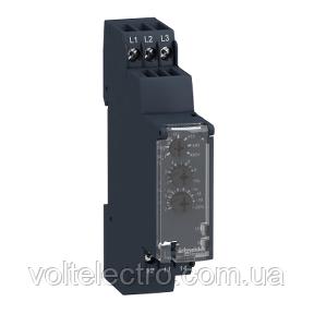 Реле контроля чередования обрыва фаз 183-528В RM17TU00