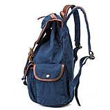 Стильный  рюкзак городской синий BUG ID005-BL, фото 3
