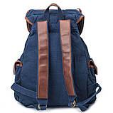 Стильный  рюкзак городской синий BUG ID005-BL, фото 4