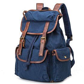 Стильный  рюкзак городской синий BUG ID005-BL