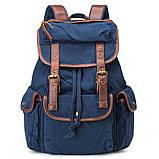 Стильный  рюкзак городской синий BUG ID005-BL, фото 5